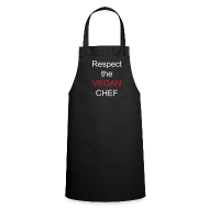 Aprons ~ Cooking Apron ~ Respect the Vegan Chef apron