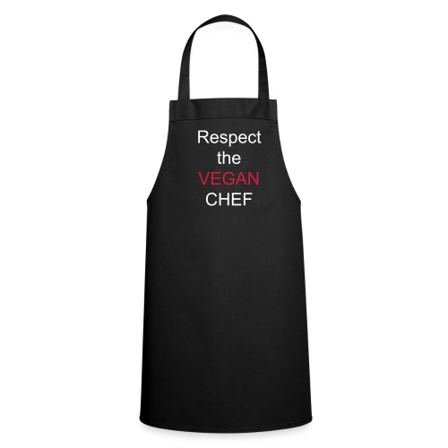 Respect the Vegan Chef apron - Cooking Apron