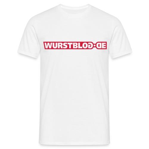 Logoshirt weiß - Männer T-Shirt