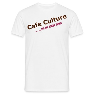 CAFE CULTURE - Men's T-Shirt
