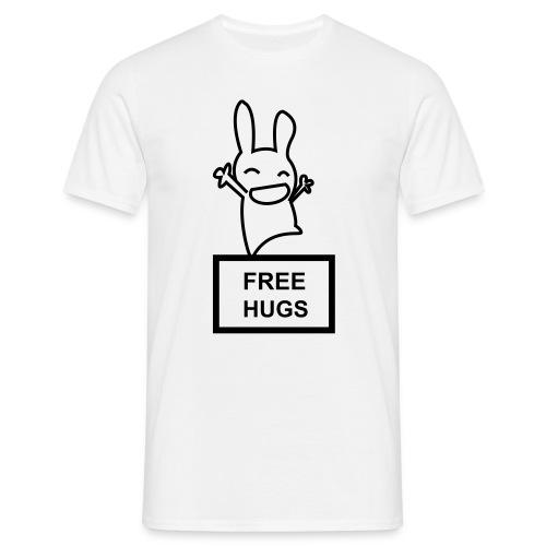 Lapin Free Hugs - T-shirt Homme