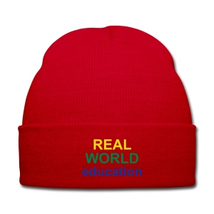 Real World Education winter hat red - Winter Hat