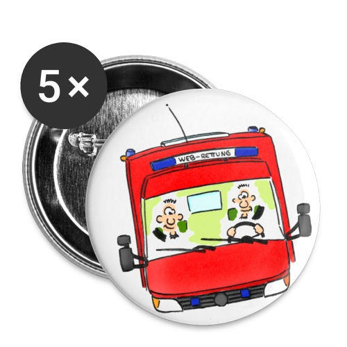 Button RTW - Buttons klein 25 mm