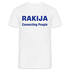 Majica Rakija Connecting People - Männer T-Shirt