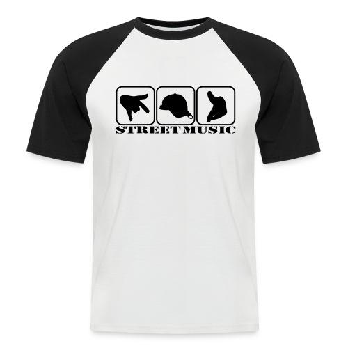 T-Shirt - Street Music Style - Männer Baseball-T-Shirt