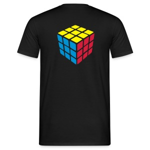 Cubing (back) T-shirt - Men's T-Shirt