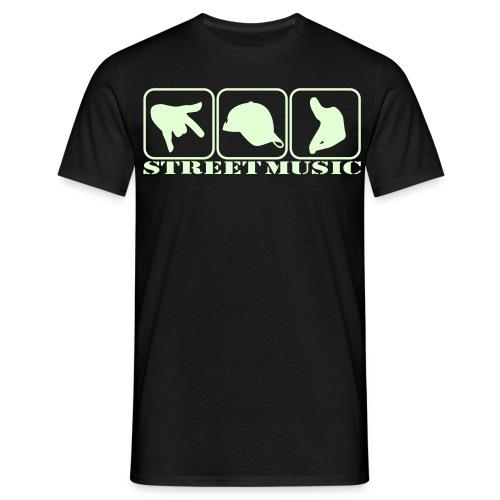 T-Shirt - Street Music Style - Männer T-Shirt