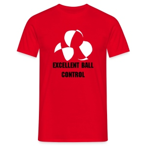 Excellent Ball Control Juggling T-Shirt - Men's T-Shirt