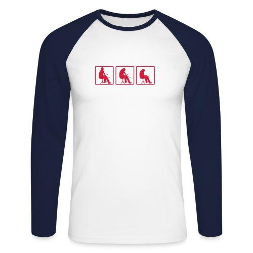 Navy Drummer shirt - T-shirt baseball manches longues Homme