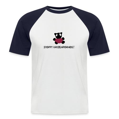 t-shirt *lecka* - Männer Baseball-T-Shirt