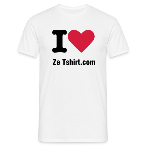 I LOVE Personnalisable - T-shirt Homme