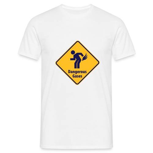 Dangerous Gasses - Men's T-Shirt