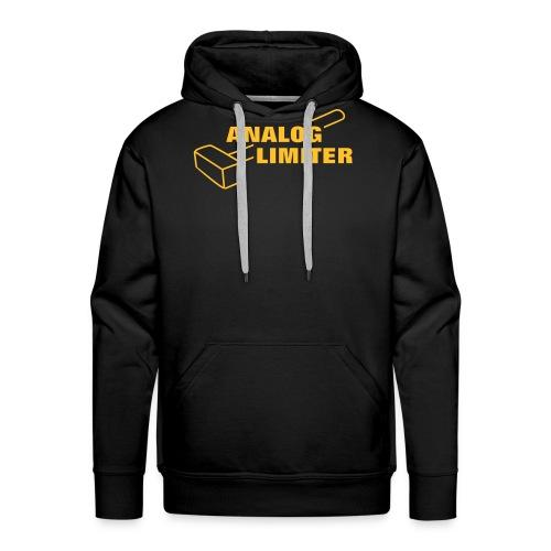 Analog Limiter - Miesten premium-huppari