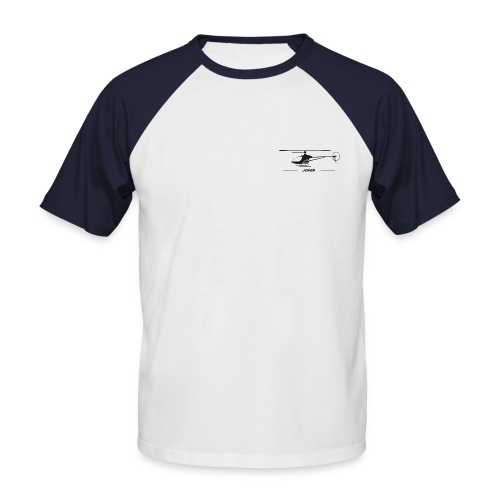 Joker (Freitexteingabe) - Männer Baseball-T-Shirt