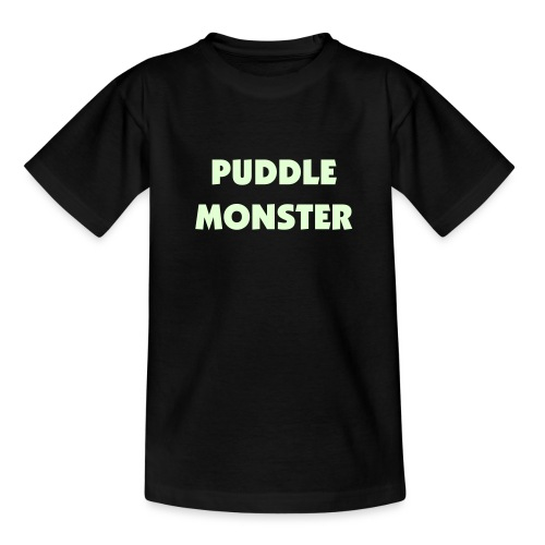 Puddle Monster Glowing Kid's T - Teenage T-Shirt