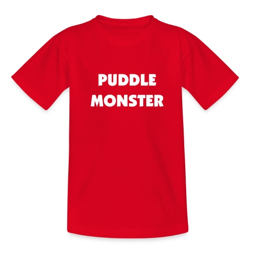 Puddle Monster Kid's T - Teenage T-Shirt