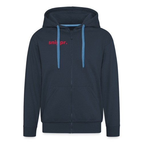 snippr trui - Men's Premium Hooded Jacket