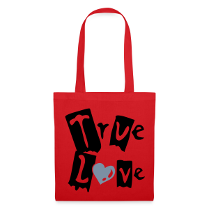 Sac True Love coeur réflecteur - Tote Bag