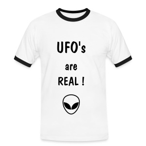 UFO's are real ! - T-shirt contrasté Homme
