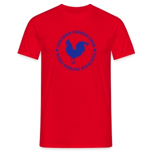 CERTIFIED FRENCH COCK - T-shirt Homme