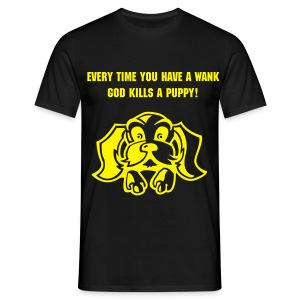 Kills a Puppy - Men's T-Shirt