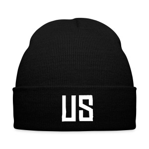 US beanie - white - Winter Hat