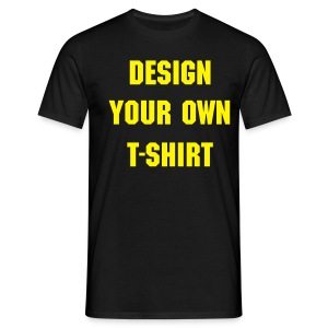 Design Your Own - Men's T-Shirt
