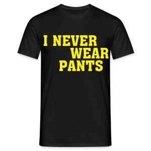 I Never Wear - Men's T-Shirt
