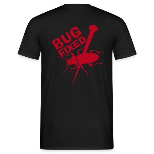 Bug-Fixed T-Shirt - Männer T-Shirt