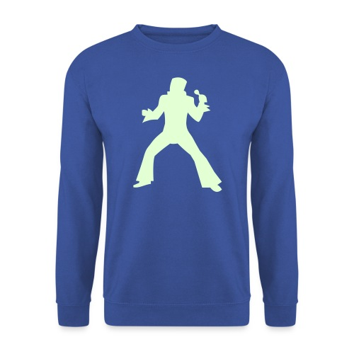 Der Rock´n´Roller Pulli leuchtet - Männer Pullover
