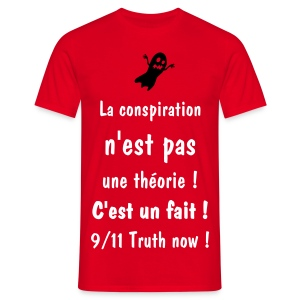 CONSPIRACY FACT - T-shirt Homme