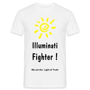 ILLUMINATI FIGHTER ! - T-shirt Homme