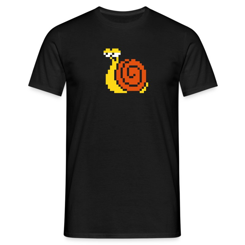 Retro gaming snail shirt - Men's T-Shirt