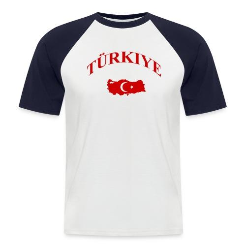 Türkei T-Shirt - Männer Baseball-T-Shirt