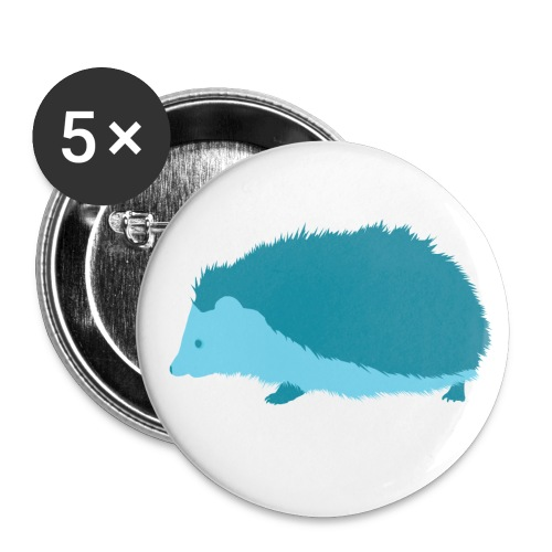LTD Edition Blue Hedgehog - Buttons medium 32 mm