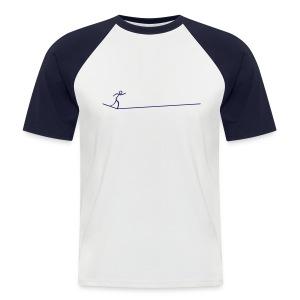 Slackline - Männer Baseball-T-Shirt