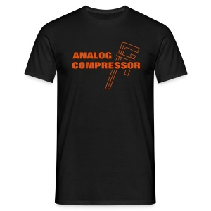 Analog Compressor - Men's T-Shirt