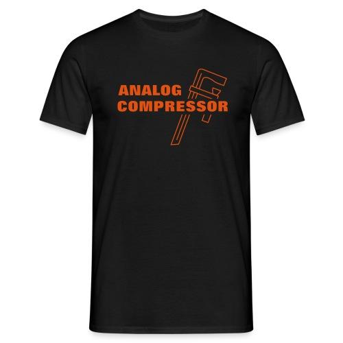 Analog Compressor - Miesten t-paita
