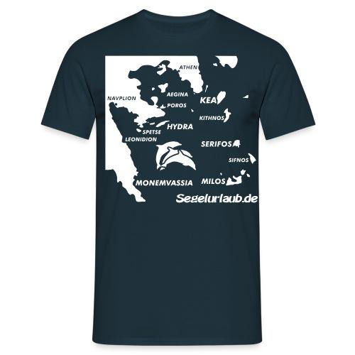 Ost Pelepones West Kykladen T-Shirt - Männer T-Shirt