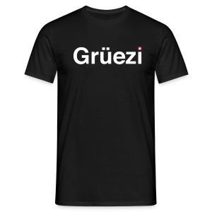 Grüezi-Shirt - Männer T-Shirt