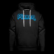 Pullover & Hoodies ~ Männer Premium Kapuzenpullover ~ Hoodie, schwarz