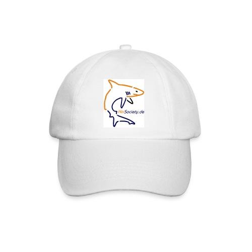 HaiSociety Cap mit lustigem Hai Bild - Baseballkappe