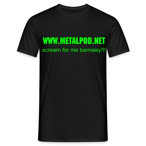 Slime for me Barnsley! - Men's T-Shirt