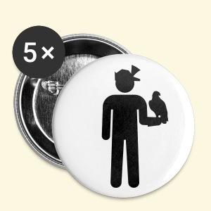 5 Buttons Falkner - Buttons mittel 32 mm