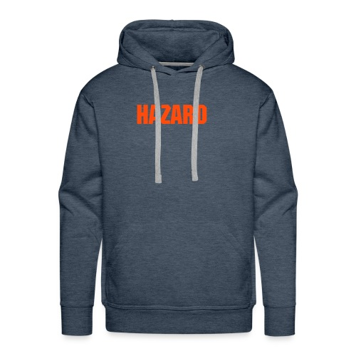 HAZARD Skateboarding Company - Brown Hoody - Men's Premium Hoodie