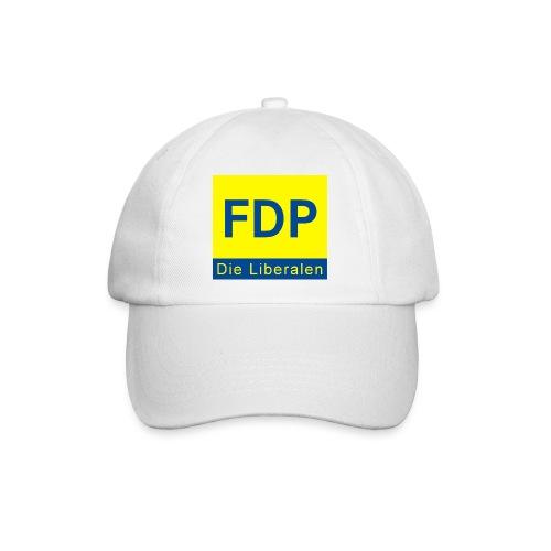 Basecap mit FDP Logo - Baseballkappe