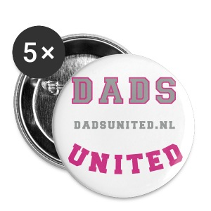 Dads United buttons - Buttons groot 56 mm