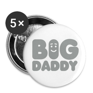 Big Daddy buttons - Buttons groot 56 mm