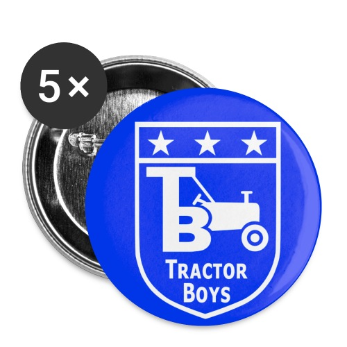 Tractor Boys Button Badge (25mm) - Buttons small 1''/25 mm (5-pack)