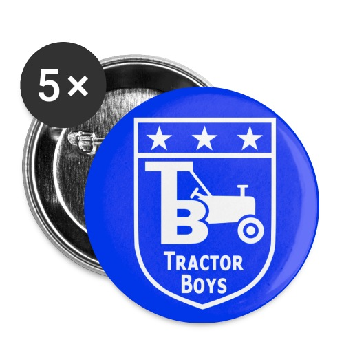Tractor Boys Button Badge (56mm) - Buttons large 2.2''/56 mm(5-pack)